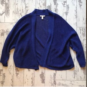 Eileen Fisher lightweight blue sweater , large